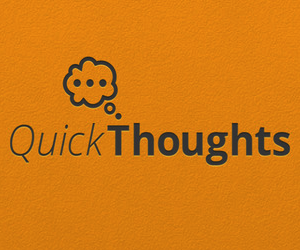 Quick Thoughts Logo