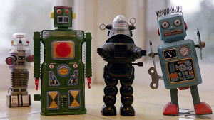 Collection of Vintage Robots